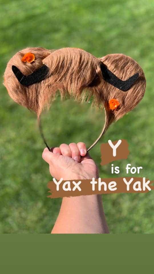 Disney alphabet ears
