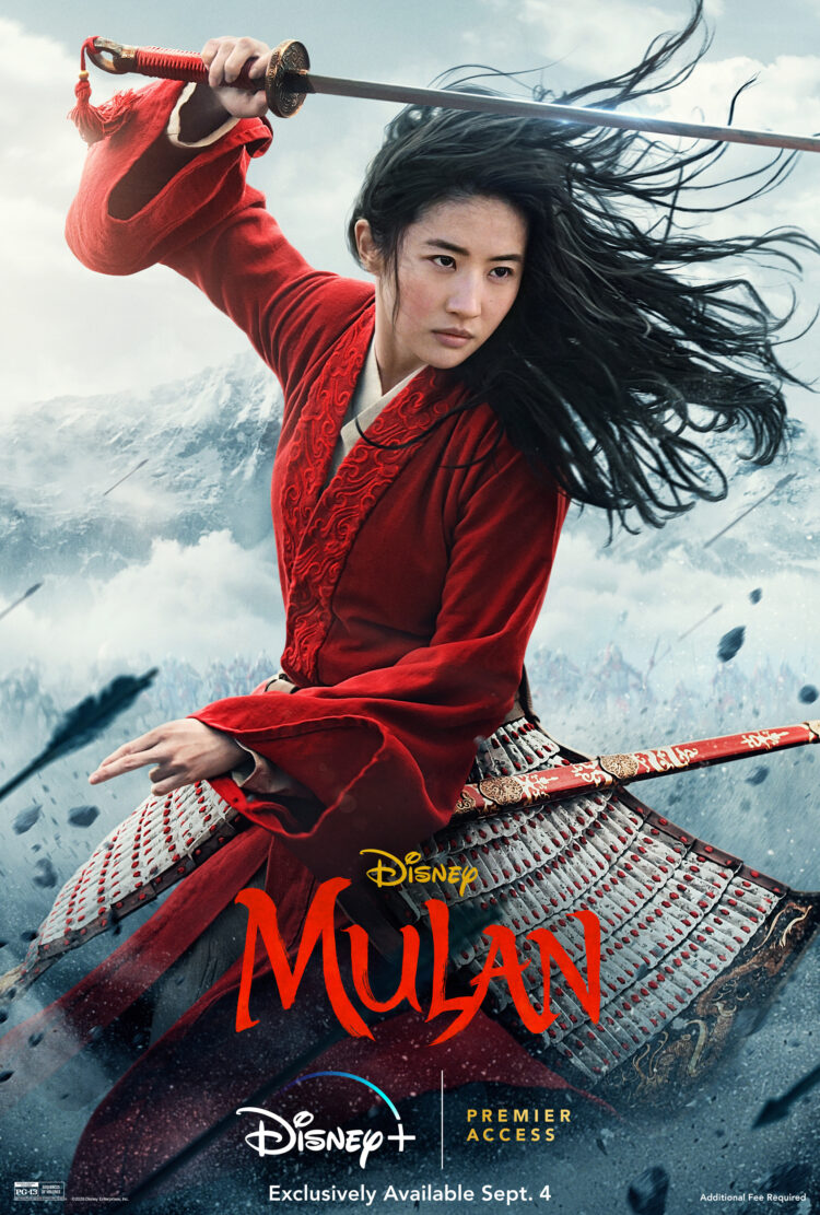 Mulan movie poster is Mulan ok for kids?