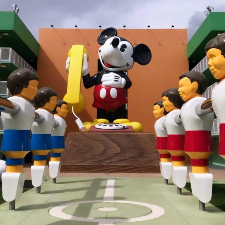 Pop Century Mickey phone