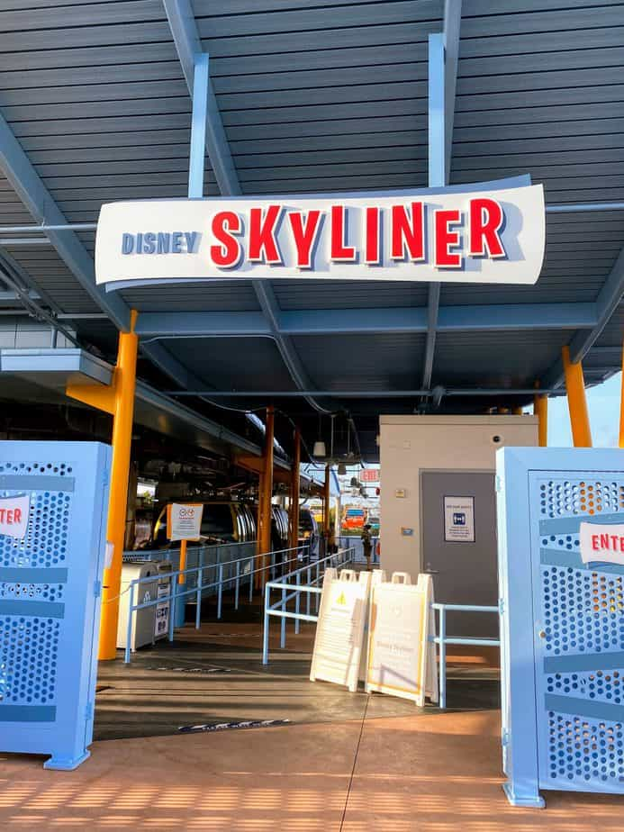 disney skyliner at pop century