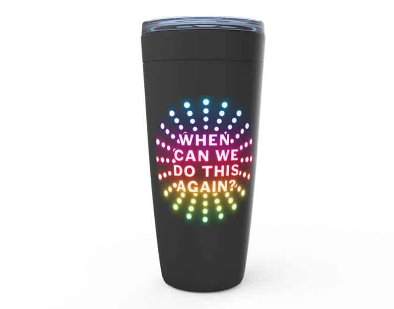 Paint the Night travel mug when can we do this again magical mimosas on etsy