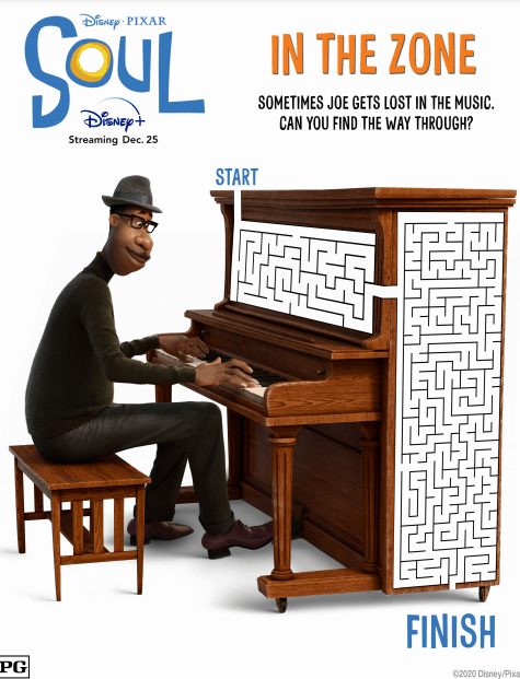 free downloadable activity sheets from pixar soul movie