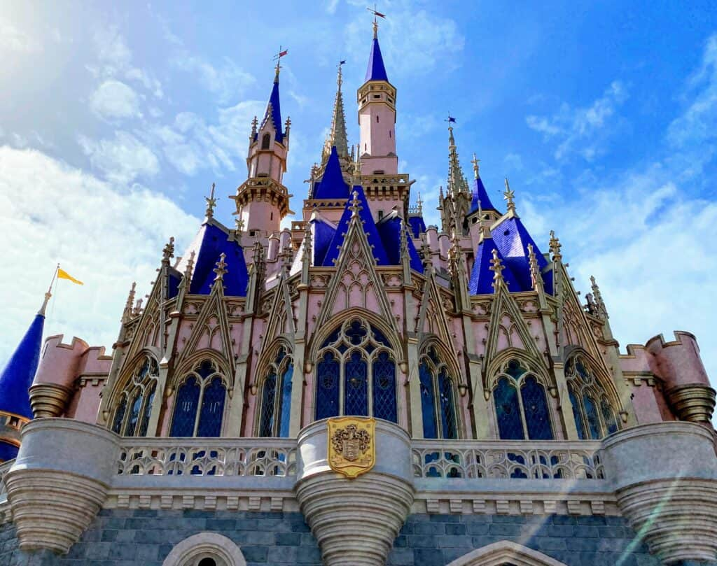 back of cinderella castle early theme park hours discussed