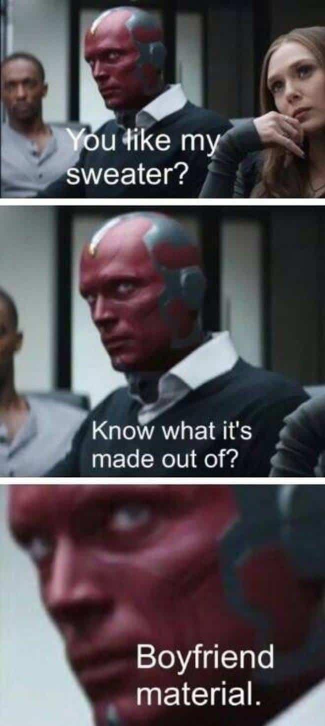spoiler wandavision memes vision