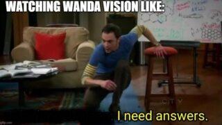 wandavision meme big bang theory