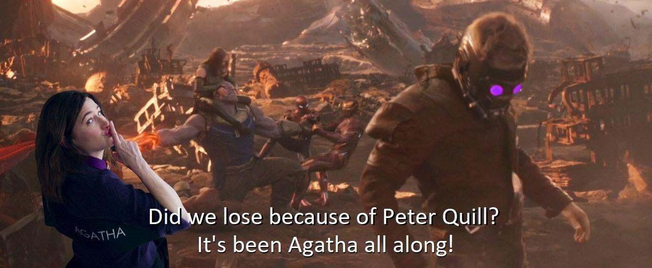 agatha all along memes