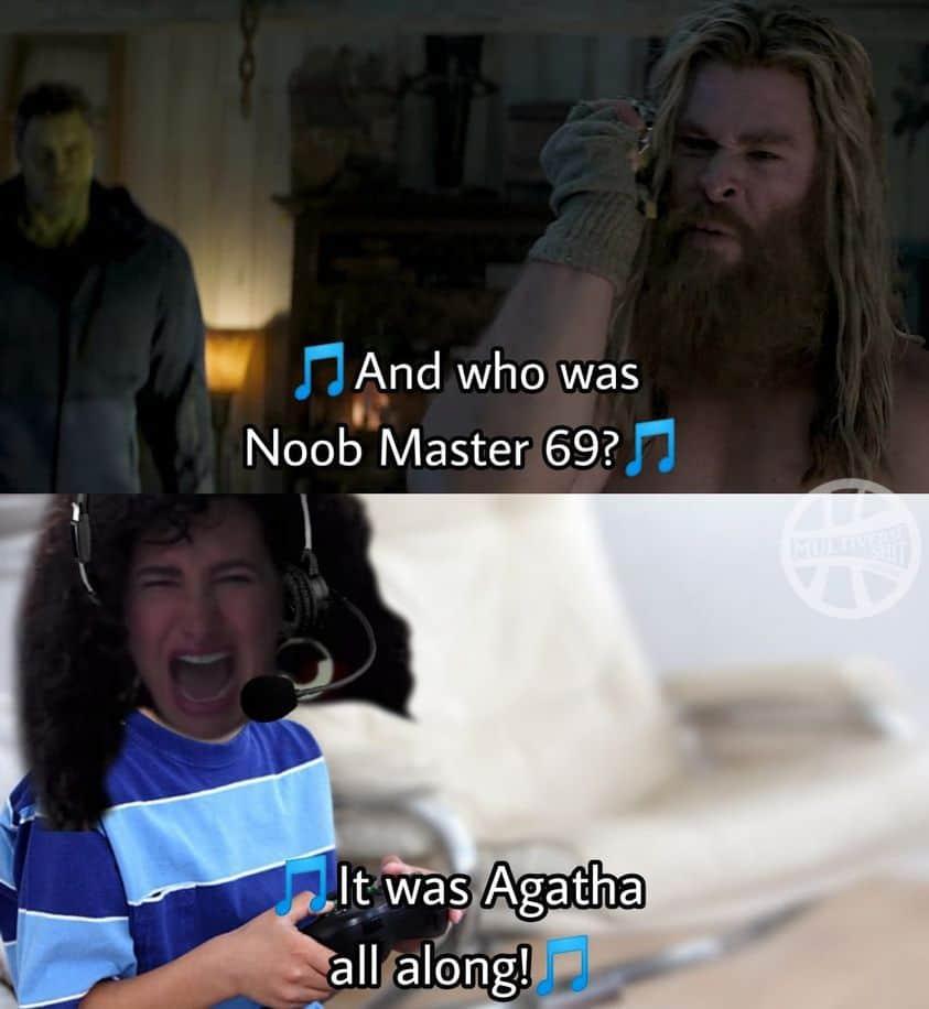 agatha all along noob master