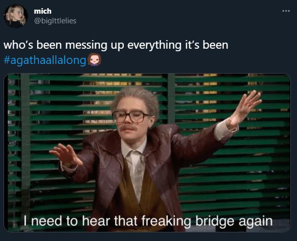 agatha all along snl memes