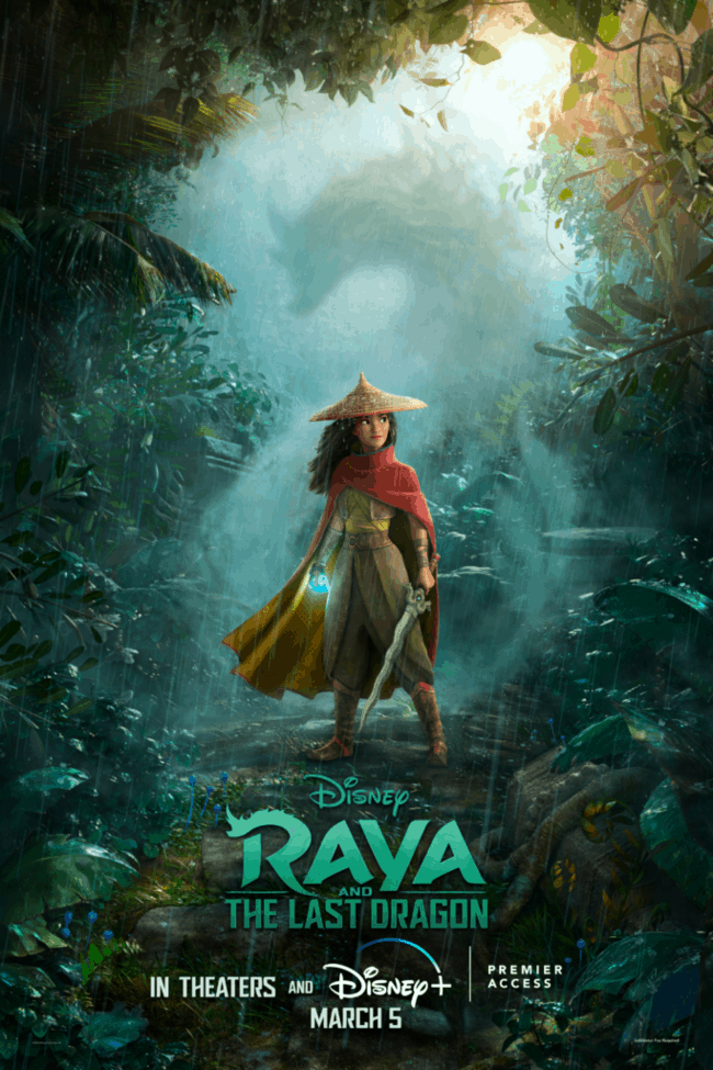favorite quotes from raya and the last dragon poster