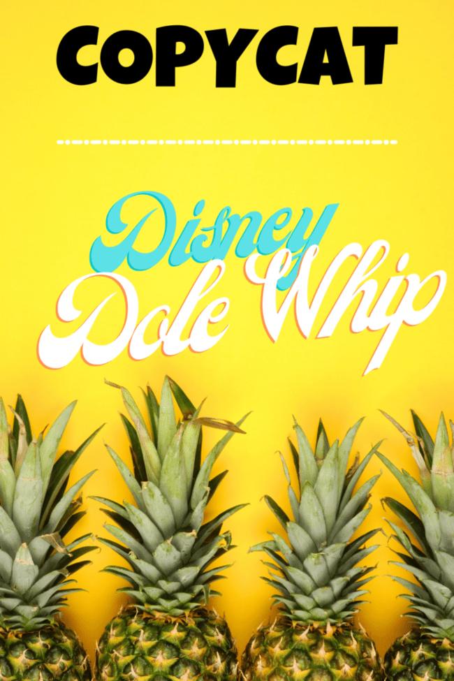 easy copycat disney dole whip recipe