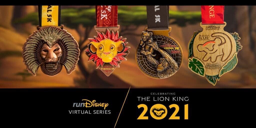 lion king virtual medals