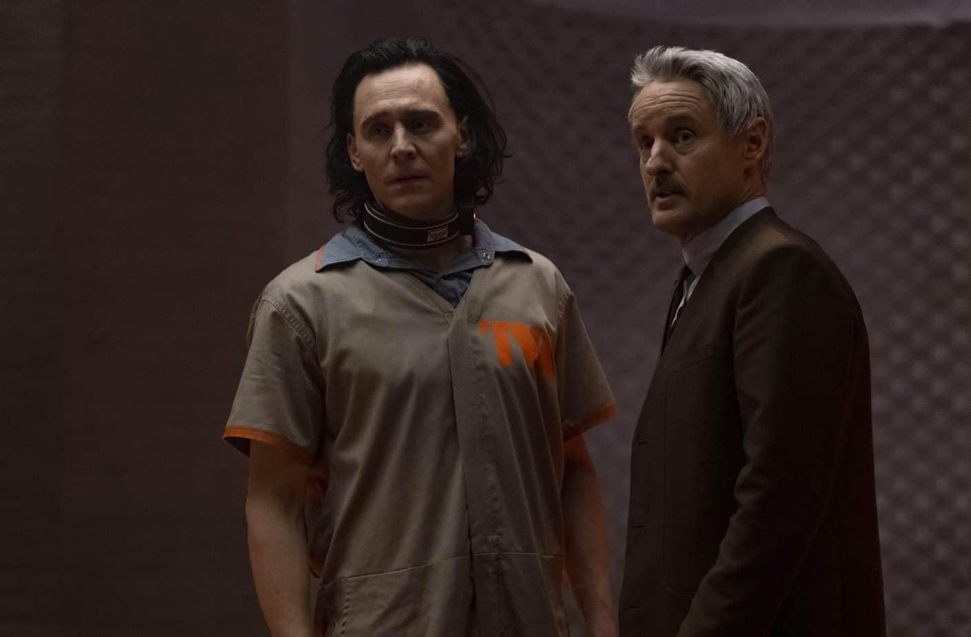 TVA- Loki (TomHiddleston) and Mobius (Owen Wilson)