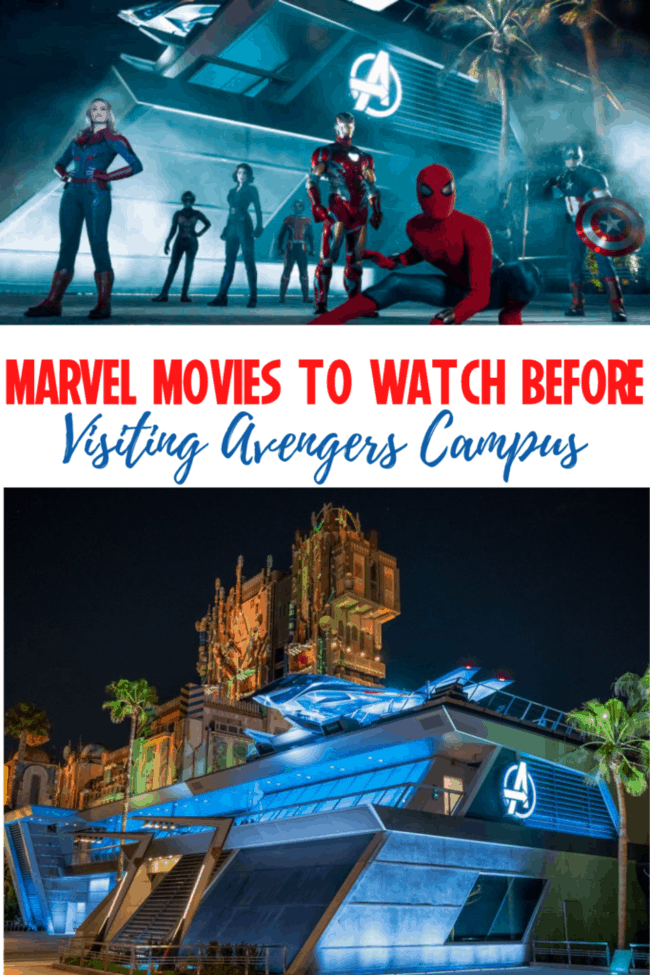 MARVEL MOVIES TO WATCH BEFORE AVENGERS CAMPUS