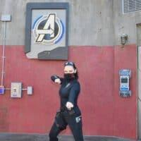 nicole at Avengers Campus disneyland